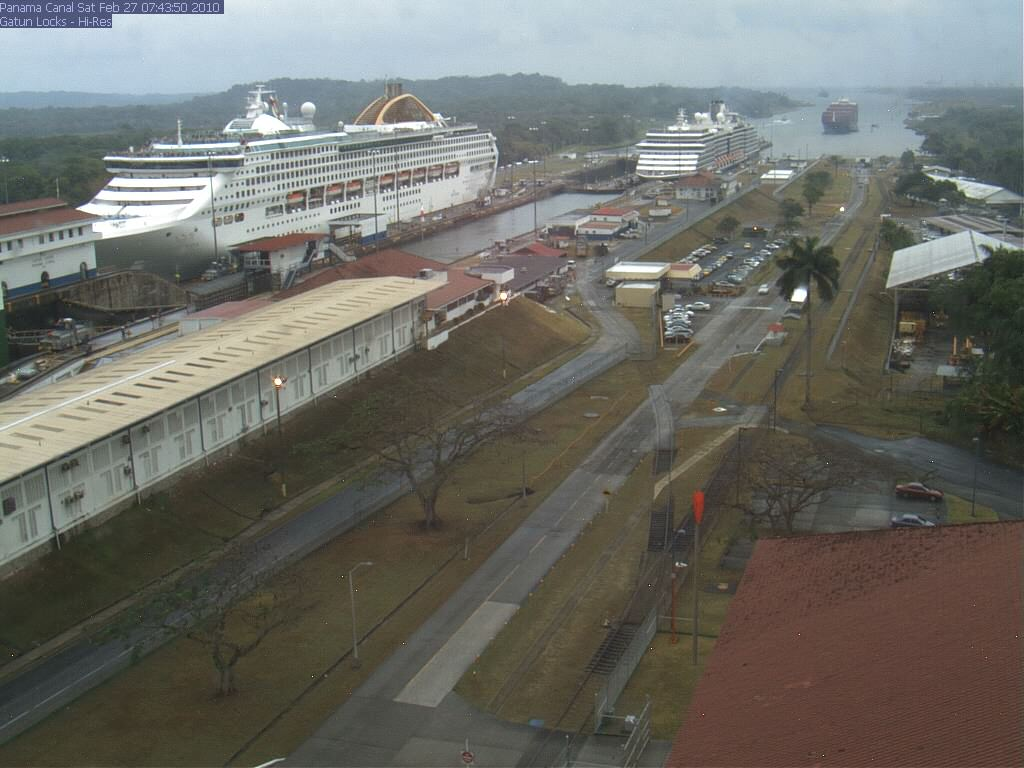 Oceana at Gatun Locks